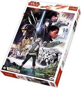 TREFL Puzzle  500 dílků -  Star Wars VIII - Poslední Jedi    37273