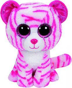 TY Beanie Boos - Asia - růžový tygřík   36823  - 24 cm plyšák