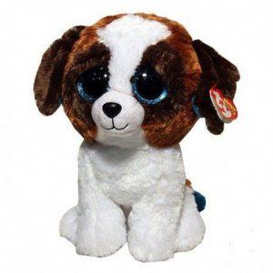 TY Beanie Boos - Duke - hnědo/bílý pejsek 36125 - 15 cm plyšák TY Inc. ( Meteor )