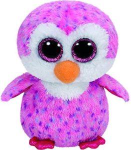 TY Beanie Boos - Glider - růžový tučňák   36826  - 24 cm plyšák