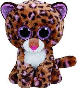 TY Beanie Boos - Patches - hnědý leopard  37068 - 24 cm plyšák