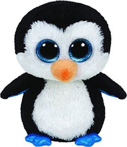 TY Beanie Boos - tučňák Waddles   36904 - 24 cm plyšák