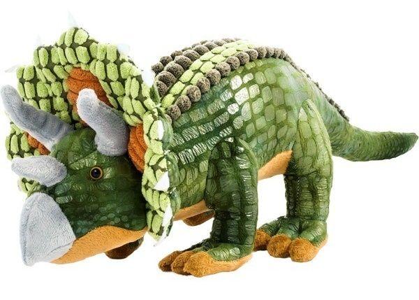 Plyšový dinosaurus - Triceratops 53 cm velký plyšák 12948 BEPPE