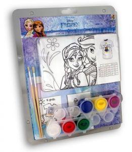 Tričko k vymalování Shellbag  s barvičkami  - Frozen  -  na  5 - 6 let