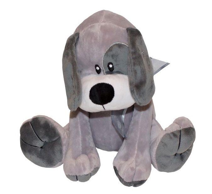 AXIOM - pejsek Kája 25 cm šedý 4780b