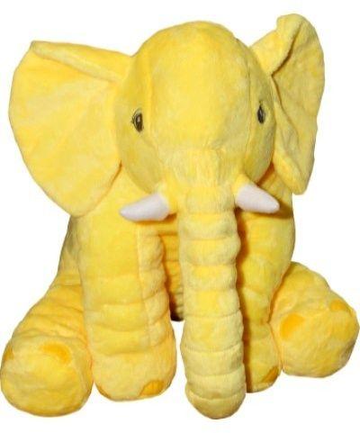 AXIOM - slon Milan žlutý 60 cm plyšák 4775a