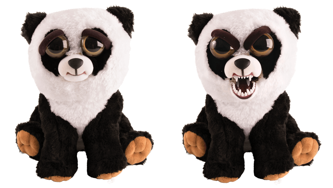 Feisty Pets Panda - plyšová 20 cm Goliath