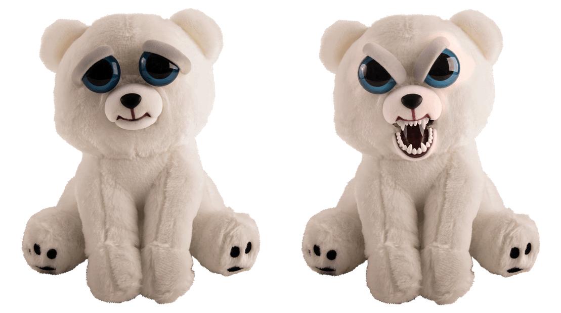 Feisty Pets Polární medvěd - plyšový 20 cm Goliath