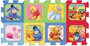 Pěnové puzzle - koberec - Medvídek Pů Trefl