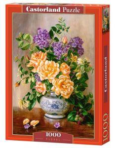 Puzzle Castorland  1000 dílků -  Květiny ve váze   103928