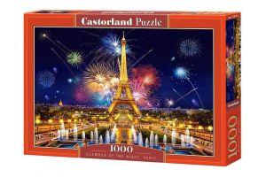 Puzzle Castorland  1000 dílků -  Nový rok v Paříži    103997