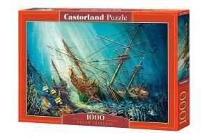 Puzzle Castorland  1000 dílků -  Poklady oceánu  103805