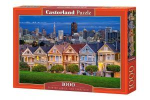 Puzzle Castorland  1000 dílků -  San Francisco  - barevné domky 103751