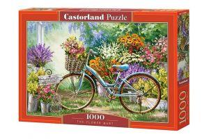 Puzzle Castorland  1000 dílků -  Tržiště s květinami    103898