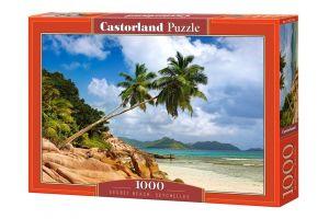 Puzzle Castorland  1000 dílků -  Utajená pláž  Seychely   103713