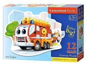 Puzzle Castorland 12 dílků MAXI - Hasiči  120109