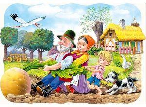 Puzzle Castorland  30 dílků - O velké řepě   03242
