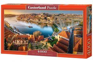Puzzle  Castorland  4000 dílků - Západ slunce v Porto    400232