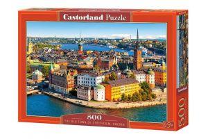 Puzzle Castorland 500 dílků -   Stockholm   52790