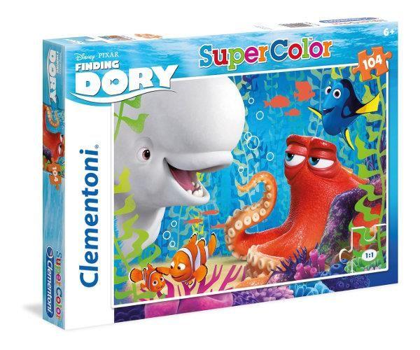 Puzzle Clementoni 104 dílků - Hledá se Dory 27974