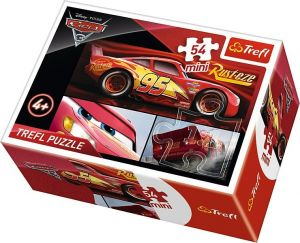 Puzzle mini 54 d - Trefl - Cars 3 19581
