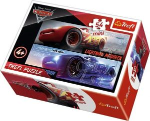 Puzzle mini 54 d - Trefl - Cars 3 19584