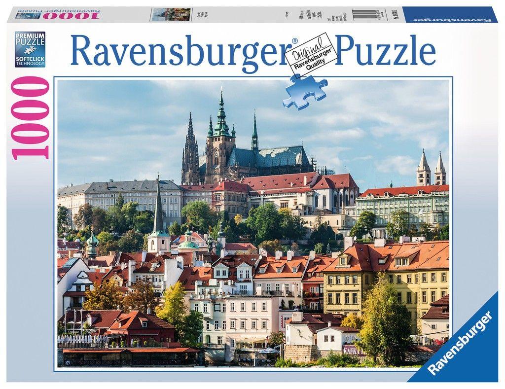 Puzzle Ravensburger 1000 dílků - Praha - Hradčany 197415