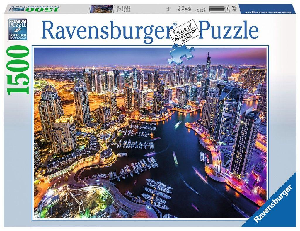 puzzle Ravensburger 1500 dílků Dubaj ( Dubai ) 163557