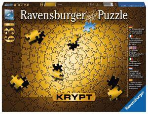 Puzzle Ravensburger 631 dílků - Krypt - zlatá barva  151523