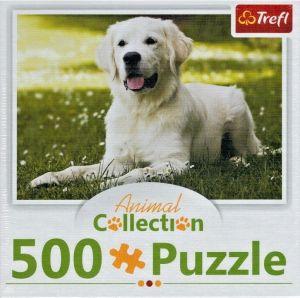 Puzzle Trefl  500 dílků  - Animal Coll. - Labrador    91540