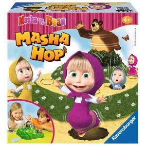 Ravensburger hra - Masha hop - Máša a medvěd