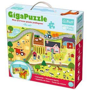Trefl CIGA  puzzle 12 dílků - na vesnici   90564