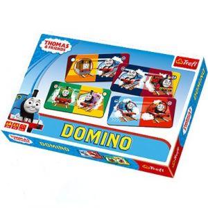 Trefl  - obrázkové domino  - Mašinka Tomáš