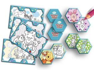 Trefl Pexeso - Medvídek Pů - vymaluj a hraj ! 20058