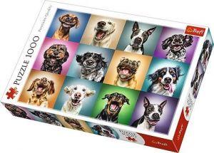 TREFL Puzzle 1000 dílků  Portréty psů 10462