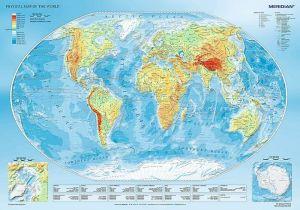 TREFL Puzzle 1000 dílků  Zaměpisná mapa  10463