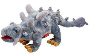 Plyšový dinosaurus - Stegosaurus šedý  71 cm velký plyšák  12965