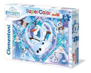 Clementoni puzzle 24 dílků MAXI - Frozen  - Olaf  24072