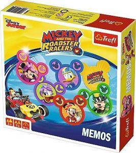 Hra Trefl  -  Memos - Pexeso - Mickey Mouse   01601
