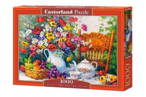 Puzzle Castorland  1000 dílků -  Čas na čaj   103836