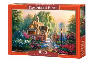 Puzzle Castorland  1000 dílků -  Cranfieldská zahrada  103973