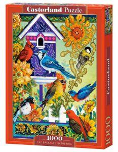 Puzzle Castorland  1000 dílků -  Ptačí sešlost  104000
