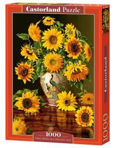 Puzzle Castorland  1000 dílků -  Slunečnice ve váze 103843