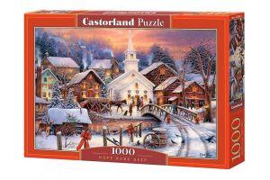 Puzzle Castorland  1000 dílků -  Zima  103850