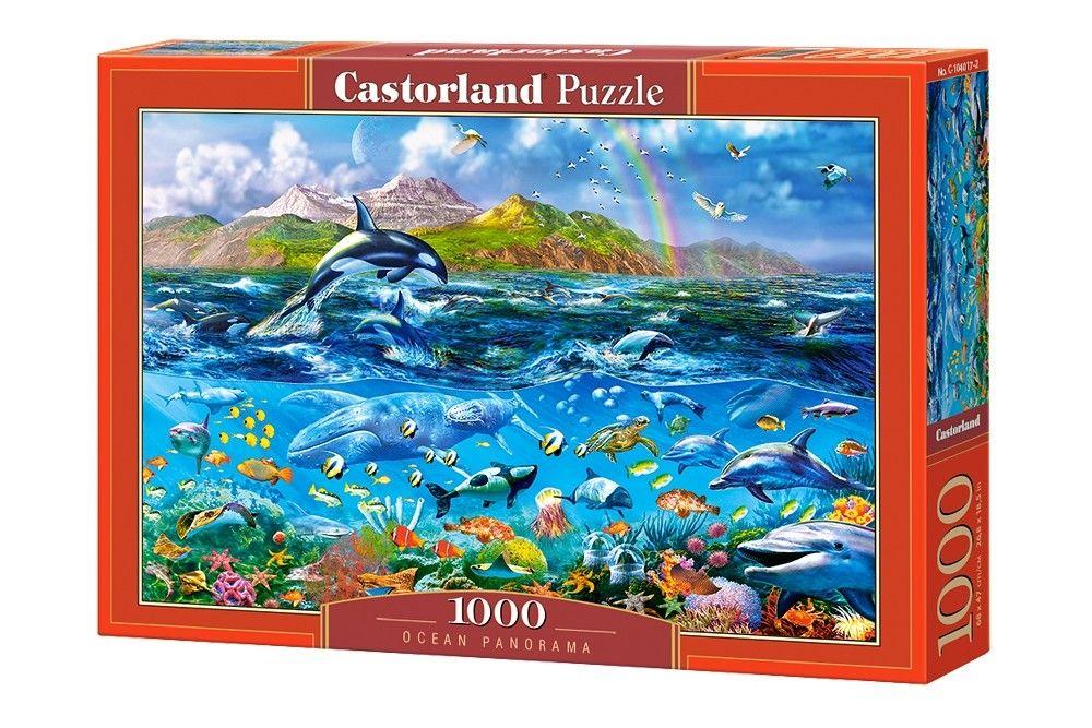 Puzzle Castorland 1000 dílků - Život v oceánu 104017