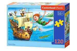 Puzzle Castorland 120 dílků - Petr Pan   13432