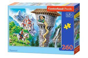 Puzzle Castorland 260 dílků - Na vlásku   27453