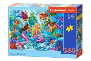 Puzzle Castorland 260 dílků - Setkání mořských víl   27439