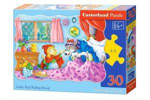 Puzzle Castorland  30 dílků  - Červená Karkulka    03655