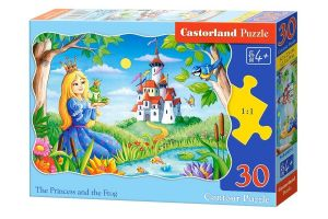 Puzzle Castorland  30 dílků  - Princezna a žábák     03679